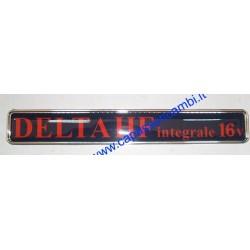 scritta posteriore  DELTA HF INTEGRALE 16V