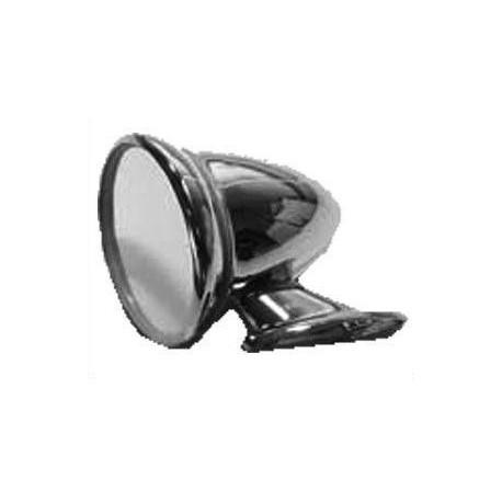 Specchio rotondo cromato a goccia fissaggio sulla porta - Specchio rotondo ...