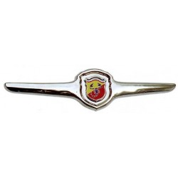 Chrome grille closed Abarth