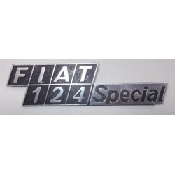 SIGLA SCRITTA FIAT 124 SPECIAL