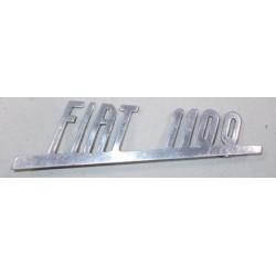 SIGLA SCRITTA FIAT 1100