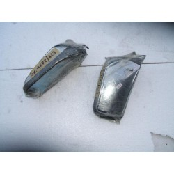 Chrome rearview mirrors Mercedes W123