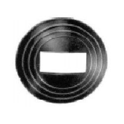 NUT FOR HANDLE BLACK PLASTIC DOOR OPENER