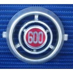 FREGIO ANTERIORE ROTONDO PER FIAT 600 D