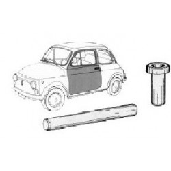 KIT 4 BUSHES AND 2 PINS FIAT 500 DOOR ASSEMBLY