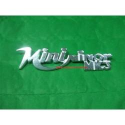 sigla posteriore MINI MINOR MK3