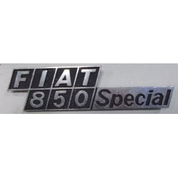 SIGLA SCRITTA FIAT 850 Special