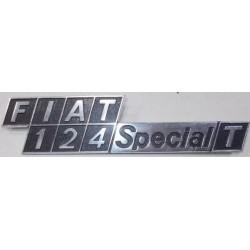 SIGLA SCRITTA FIAT 124 SPECIAL T