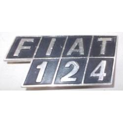 SIGLA SCRITTA FIAT 124