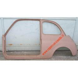 fiancale posteriore con vano porta FIAT 500